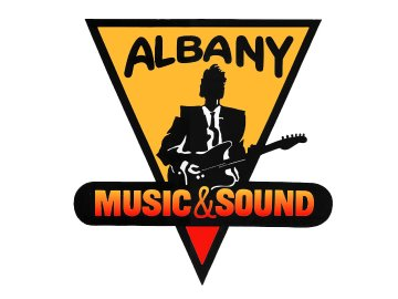 Albany Music and Sound Logo