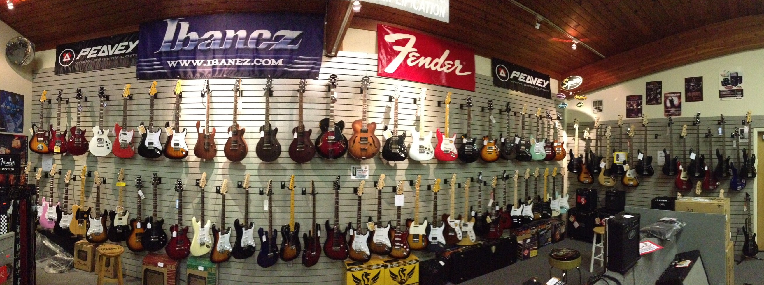 Electric Guitar wall